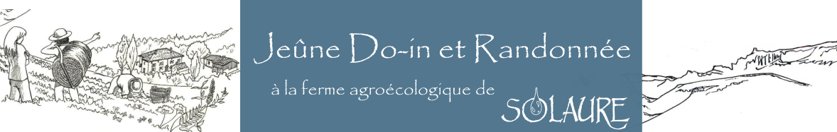 Jeûne, Do-In et Randonnée Logo